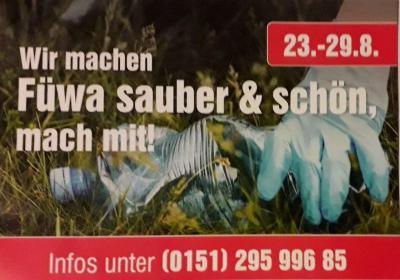 Foto zur Meldung: Aktionswoche: Wir machen Fürstenwalde sauber und schön!
