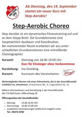 Step Aerobic Choreo