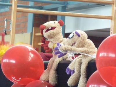 Foto zur Meldung: Puppentheater zur Einschulung