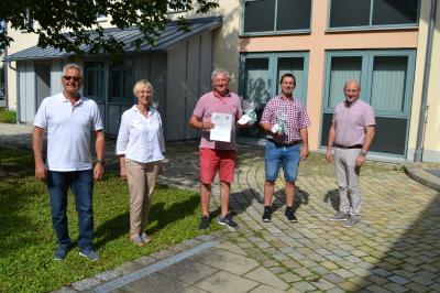 Foto zur Meldung: Josef Steinhofer unterstützt Wohnberatungsteam