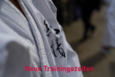 Bild der Meldung: Veränderte Trainingszeiten