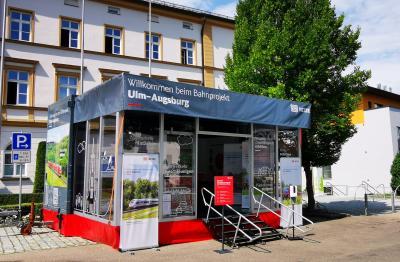 Bahnprojekt Ulm-Augsburg - Infomobil am 15. und 16.09.2021 in Zusmarshausen