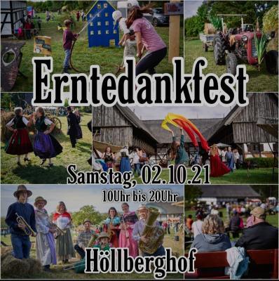 Erntedankfest auf dem Höllberghof