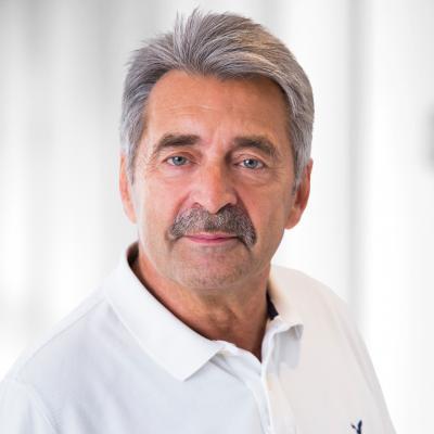 Dr. med. Reinhold Ostwald, Ärztlicher Direktor des Evang. Krankenhauses Dierdorf/Selters