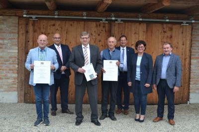 Foto zur Meldung: Verleihung des Staatspreises 2020 Land- und Dorfentwicklung Haidlfing V