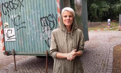 Foto zur Meldung: Jugendliche können alten Bauwagen zur Chillecke umgestalten