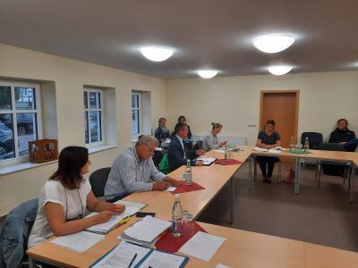Amtsausschusssitzung in Preddöhl