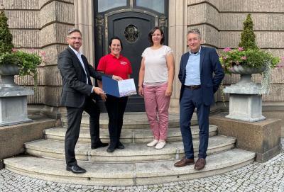 Ehrenbotschafterrolle der SG Fanfarenzug Potsdam e.V. verlängert