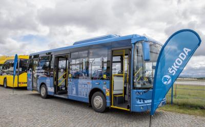Praxisforum E-Mobilität am 27.08.2021 am Flugplatz Strausberg