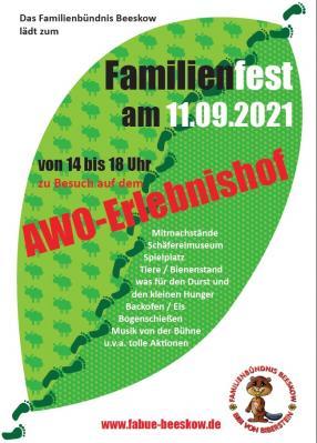 Foto zur Meldung: Familienfest am 11.09.2021 in Beeskow