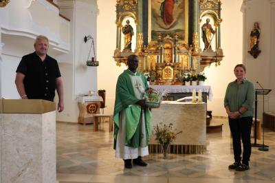 Verabschiedung Pfarrer Francis Blaibach
