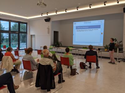 Foto zur Meldung: Beeskower Verwaltung macht sich zumThema Kinderrechte fit