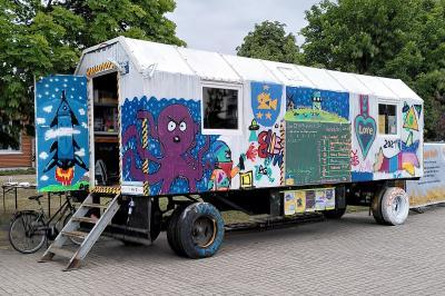 Foto zur Meldung: Stadt ermöglicht neuen Standort für Kulturlokal-Bauwagen