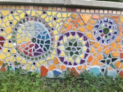 Mosaik - Foto: Kunterbude