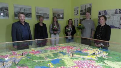 Foto zur Meldung: Fachkräftenachwuchs in der Stadtverwaltung Lauchhammer