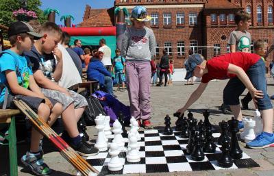 """""""Faszination Schach"""" auf dem Wittstocker Marktplatz"""