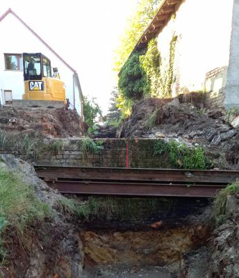 Hochwasserschutz in Gehren