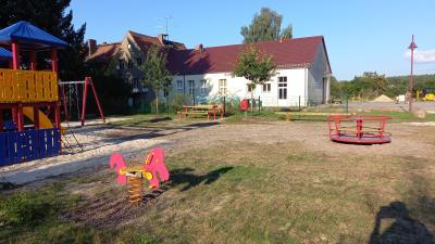 neue Spielgeräte für Bornsdorf