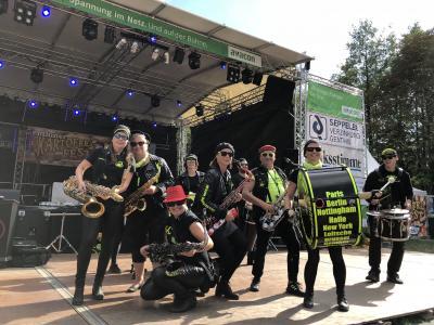 """Foto zur Meldung: """"Sax´n Anhalt VIP-Band"""" sorgt für Hochstimmung beim 27. Genthiner Kartoffelfest am 18. September"""