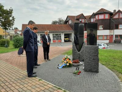 Gedenken an die verstorbenen Kameraden