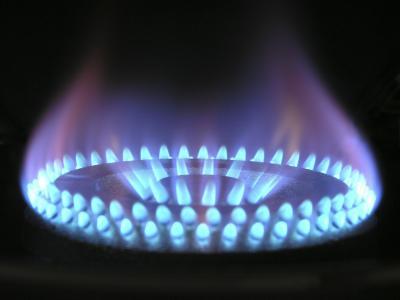 Gasleitung wird verlegt