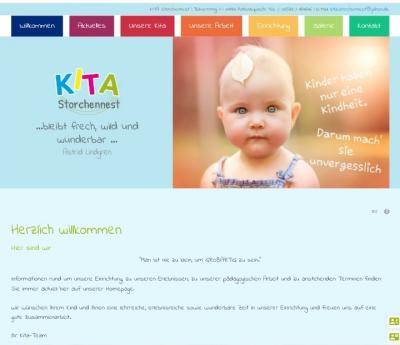 """Foto: Homepage Kita """"Storchennest"""" Hohenleipisch"""