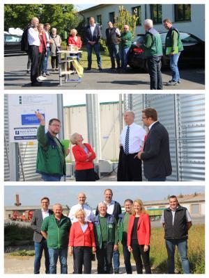 Ministerpräsident Woidke zu Besuch