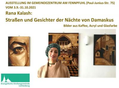 Ausstellung im Gemeindezentrum Am Fennpfuhl