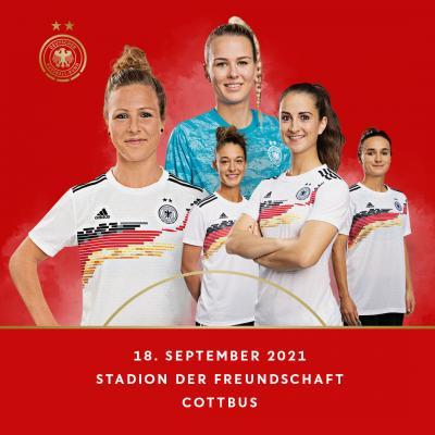 Vorverkauf für das Frauen-Länderspiel ab dem 9.9.21