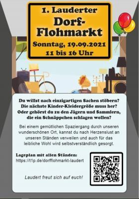 Erster Dorf-Flohmarkt in Laudert am 19.09.2021