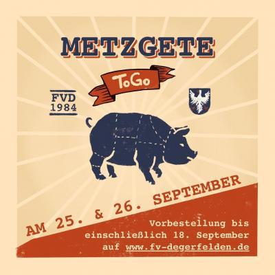 "Metzgete ""to go"" am 25. + 26. September 2021 beim FV Degerfelden"