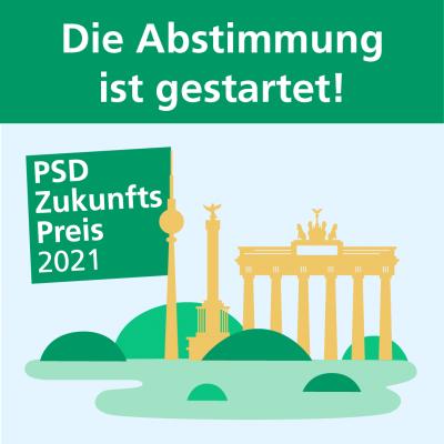 PSD Zukunftspreis gestartet - Täglich ein Klick genügt!
