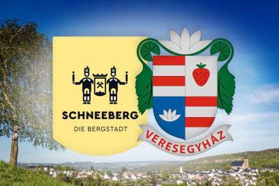 anlässlich 25 Jahre Städtepartnerschaft mit der Stadt Veresegyház (Ungarn) und Schneeberg