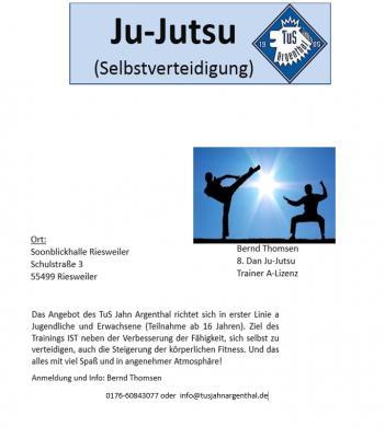 Ju-Jutsu - Selbstverteidigung und Fitness