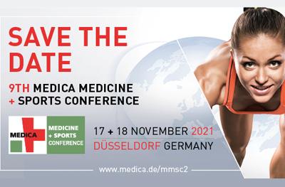 Bild der Meldung: Sichern Sie sich ihr Ticket für die MEDICA MEDICINE + SPORTS CONFERENCE 2021!
