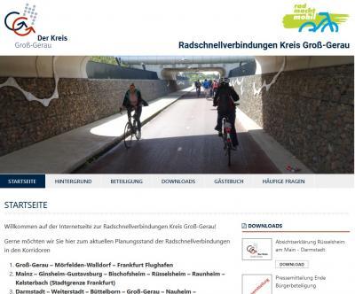 Foto zur Meldung: Treffen zu Radschnellverbindungen im Kreis Groß-Gerau