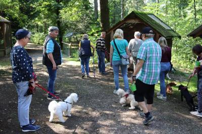Besuch der Waldvogelstation