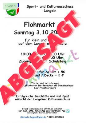 Flohmarkt in Langeln
