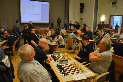 91 Schachspieler*innen aus vier Bundesländern beteiligten sich I Foto: Martin Ferch