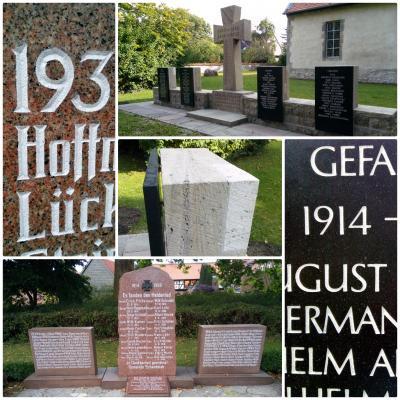 An den Ehrenmalen in Cremlingen und Schandelah wurden während der letzten Wochen umfangreiche Sanierungsarbeiten durchgeführt.