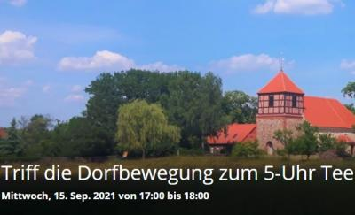 """Triff die Dorfbewegung zum """"5-Uhr-Tee"""""""