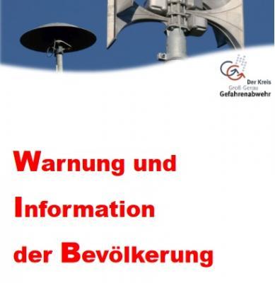 """Foto zur Meldung: Flyer """"Warnung und Information der Bevölkerung im Kreis Groß-Gerau"""""""