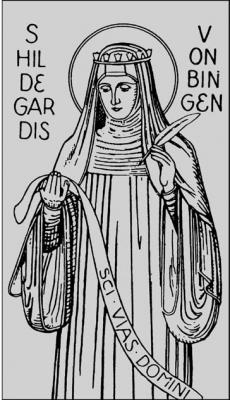 17. September, Namenstag unserer baldigen Patronin Hl. Hildegard von Bingen