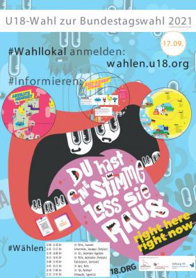 Erste mobile U 18-Wahl am 17.09.2021 in Lauchhammer