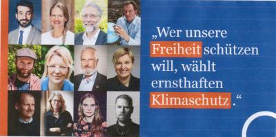 Statement zur Bundestagswahl: Klimaschutz ist Freiheitsschutz.