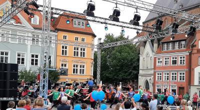 Spielzeiteröffungsshow des Theaters Vorpommern