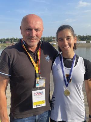 Foto zur Meldung: Finja Hermanussen holt GOLD bei Olympic Hope Games