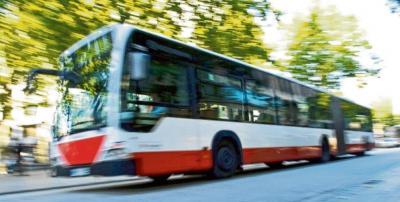 Bus nach Norderstedt kommt