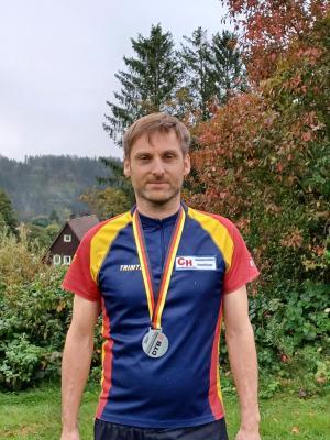 Foto zur Meldung: SG Zittau Süd hat einen neuen deutschen Vizemeister im Orientierungslauf