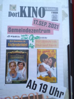Letzte Vorstellung - Kino unter dem Sternenhimmel in Michelsdorf